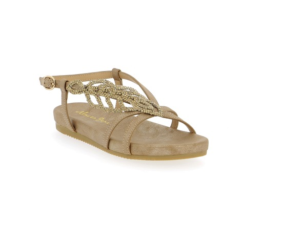 Sandales Alma En Pena Bronze