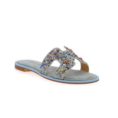 Muiltjes - slippers Alma En Pena Hemelsblauw