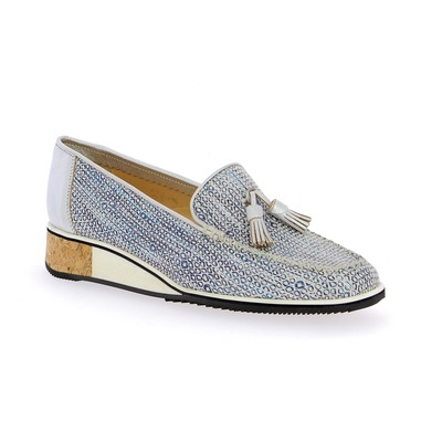 Moccassins Brunate Bleu