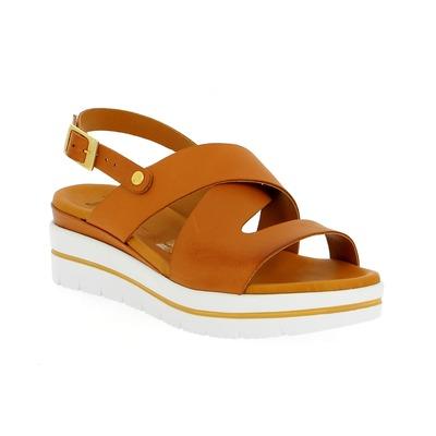 Sandales Delaere Cognac
