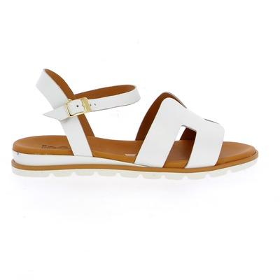 Sandales Delaere Blanc