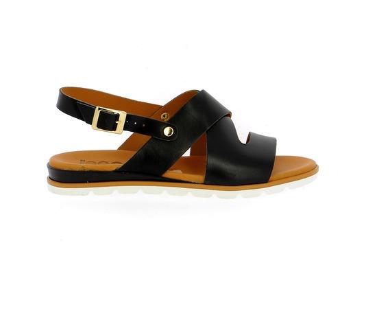 Sandalen Delaere Zwart