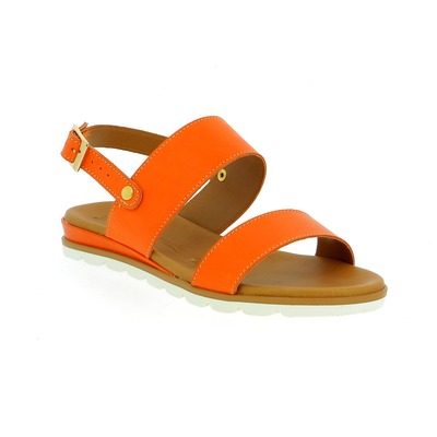 Sandales Delaere Orange