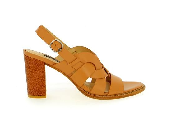 Sandales Zinda Cognac