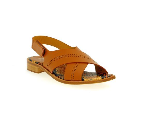 Sandales Pertini Cognac