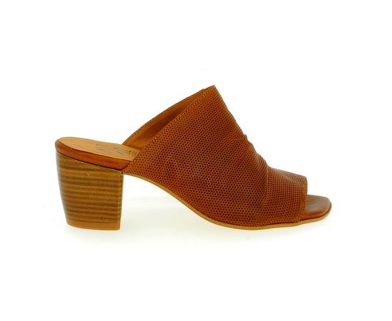 Muiltjes - slippers Miz Mooz Cognac