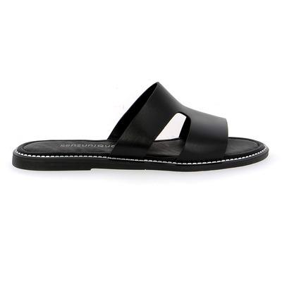 Muiltjes - slippers Sensunique Zwart