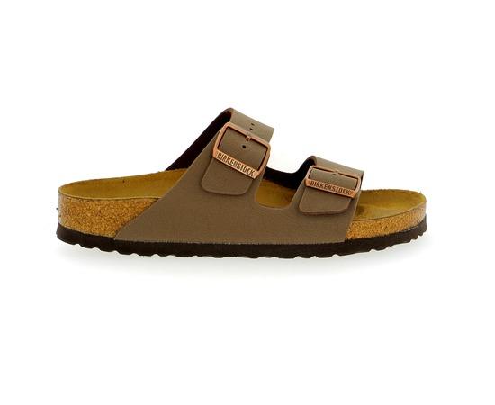 Muiltjes - slippers Birkenstock Taupe