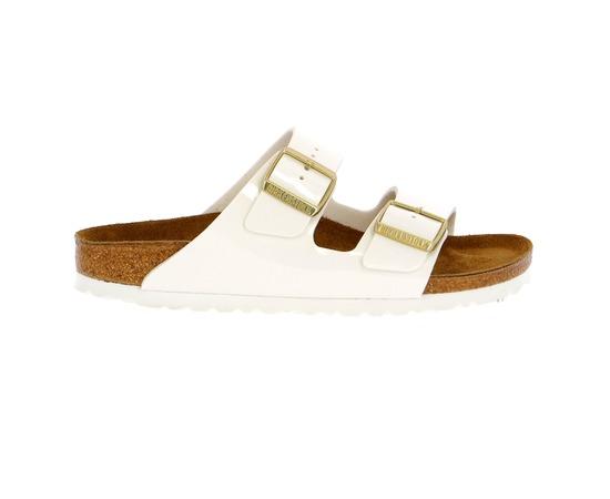 Muiltjes - slippers Birkenstock Wit