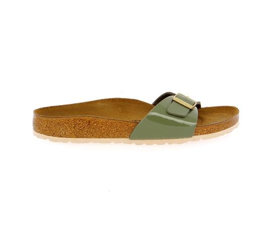 Muiltjes - slippers Birkenstock Kaki