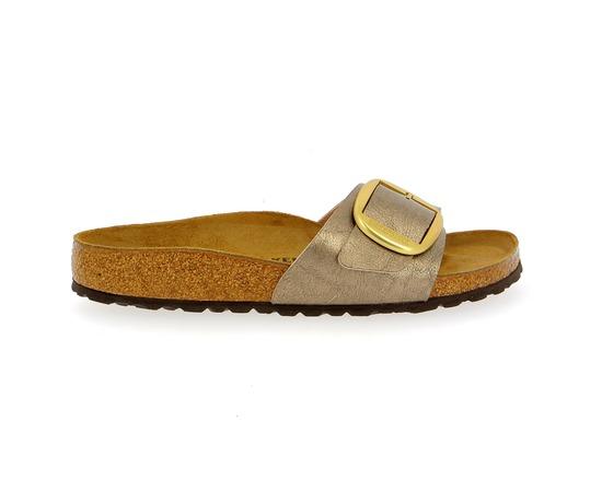 Muiltjes - slippers Birkenstock Brons