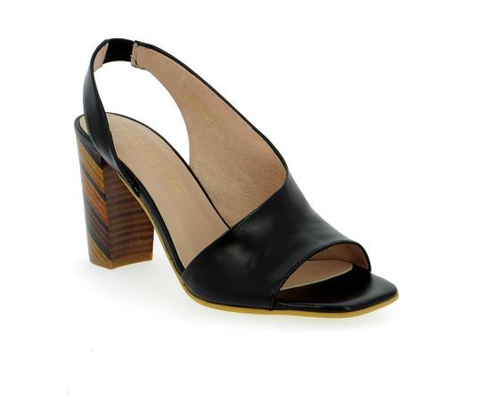 Sandalen Three6five Zwart