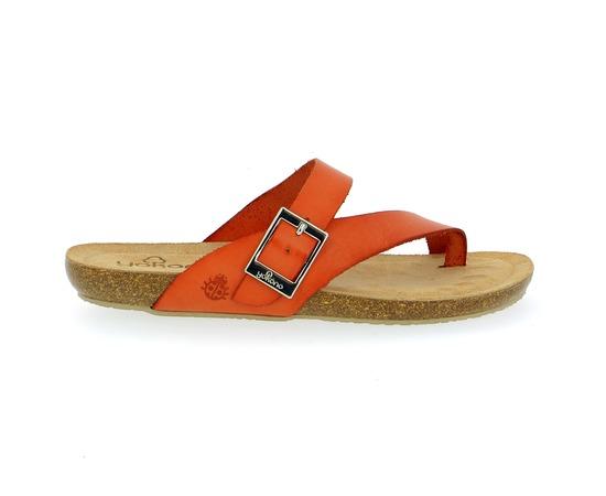 Muiltjes - slippers Yokono Oranje