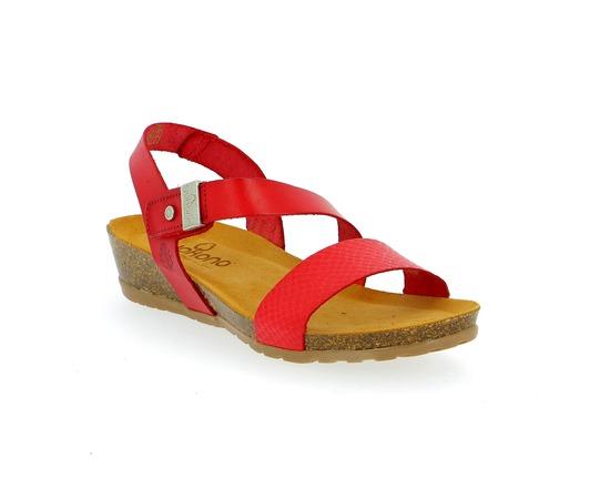 Sandales Yokono Rouge