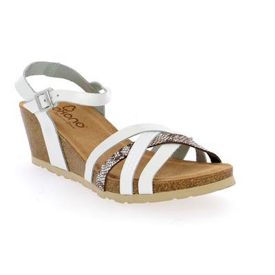 Sandales Yokono Blanc