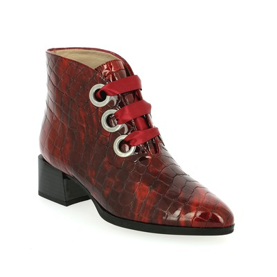 Bottines Hispanitas Rouge