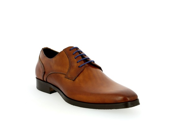Veterschoenen Daniel Kenneth Cognac