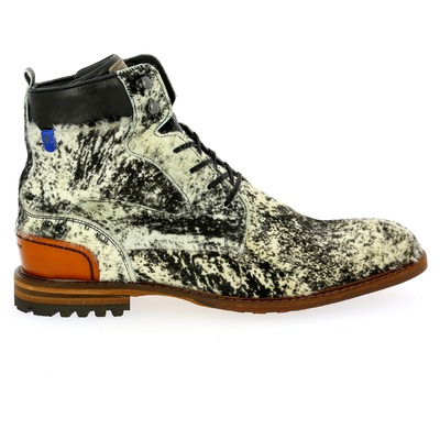 Bottines Floris Van Bommel Blanc