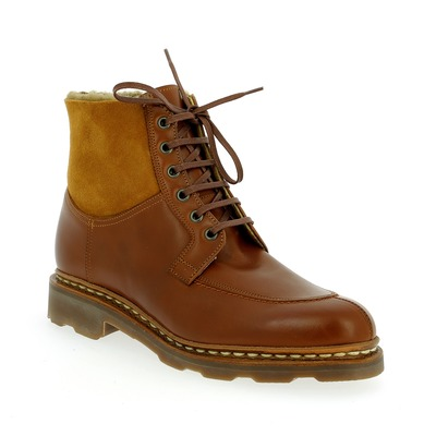 Bottines Paraboot Cognac