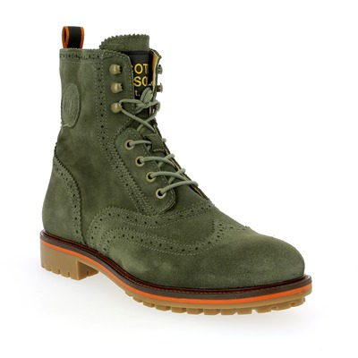Bottines Scotch & Soda Kaki