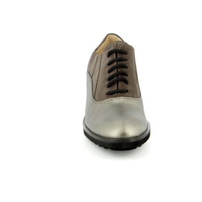 Veterschoenen Brunate Taupe