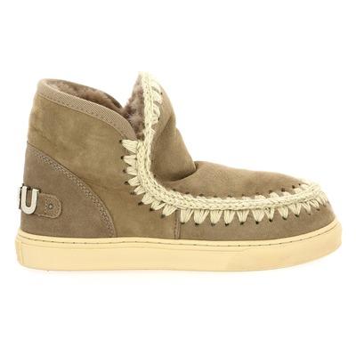 Boots Mou Gris