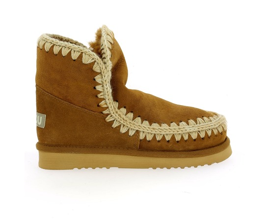 Boots Mou Cognac
