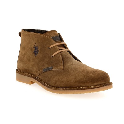 Bottines Us Polo Assn Cognac