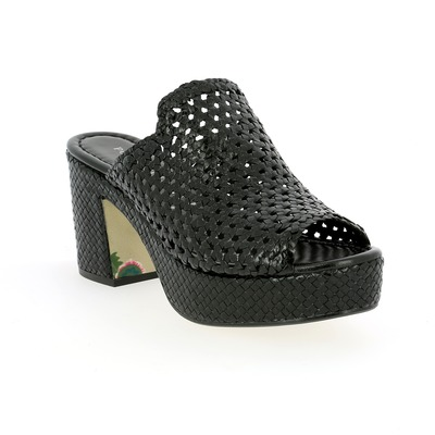Muiltjes - slippers Pons Quintana Zwart