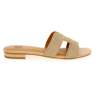 Muiltjes - slippers Bibilou Nude