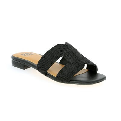 Muiltjes - slippers Bibilou Zwart