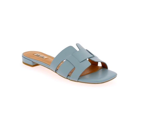 Muiltjes - slippers Bibilou Hemelsblauw