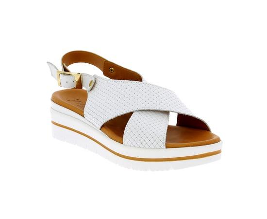 Muiltjes - slippers Delaere Wit