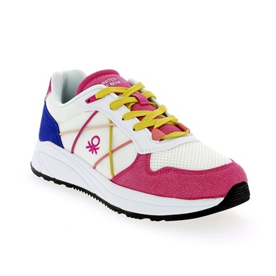 Sneakers Benetton Roze