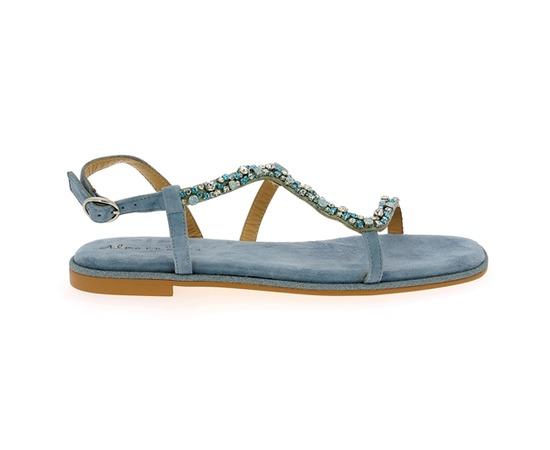 Sandales Alma En Pena Bleu