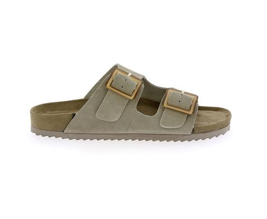 Muiltjes - slippers Colors Of California Grijs