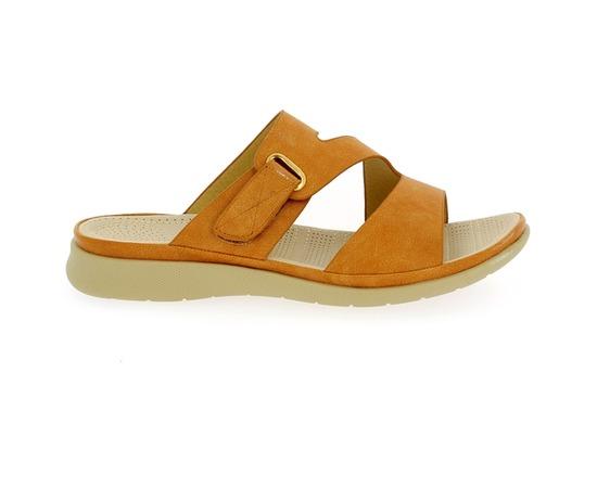 Muiltjes - slippers Cypres Camel