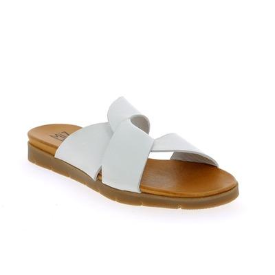 Muiltjes - slippers Miz Mooz Wit