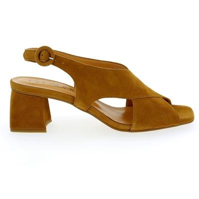 Sandales Di Lauro Cognac