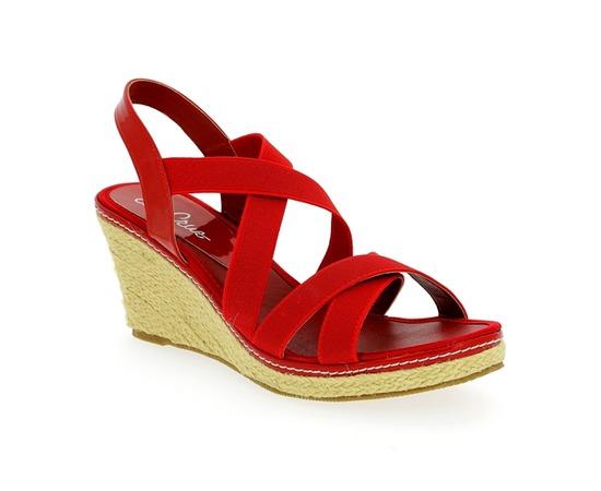 Sandales Cypres Rouge
