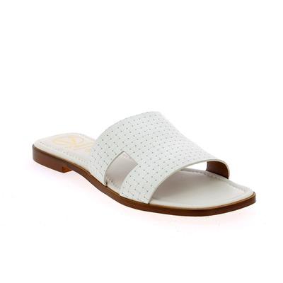 Muiltjes - slippers Viguera Wit