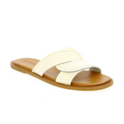 Muiltjes - slippers Inuovo Wit