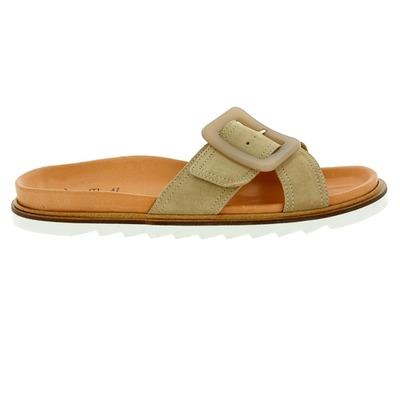 Muiltjes - slippers Kmb Taupe