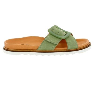 Muiltjes - slippers Kmb Groen