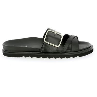 Muiltjes - slippers Kmb Zwart