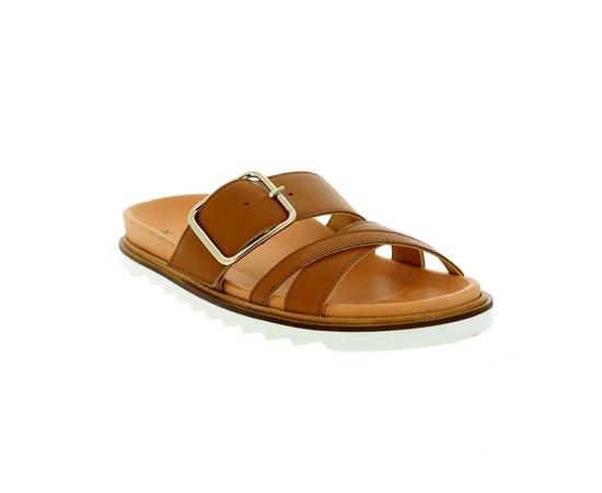 Muiltjes - slippers Kmb Cognac