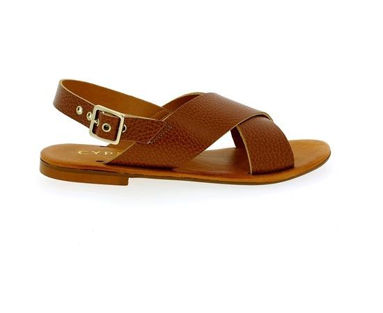 Sandales Cypres Cognac