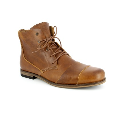 Bottines Hub Cognac