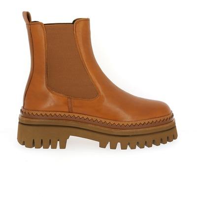Boots Elvio Zanon Cognac