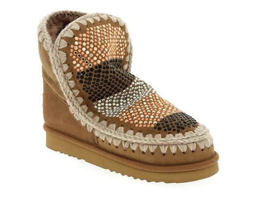 Boots Mou Brun